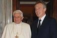 Блэр ушел к папе