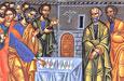 Об избрании по жребию апостола Матфия